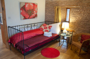 Family bedrooms at Holt Barn