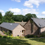 Hay-on-Wye cottage for 4 with Hot Tub