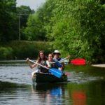 Canoeing near Hay-on-Wye