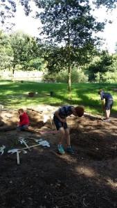 Weir Gardens sandpit